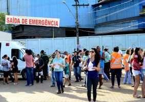Defesa Civil realizou simulado de evacuação em Barão de Cocais