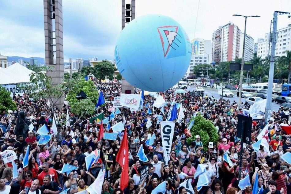 greve nacional da educação em BH